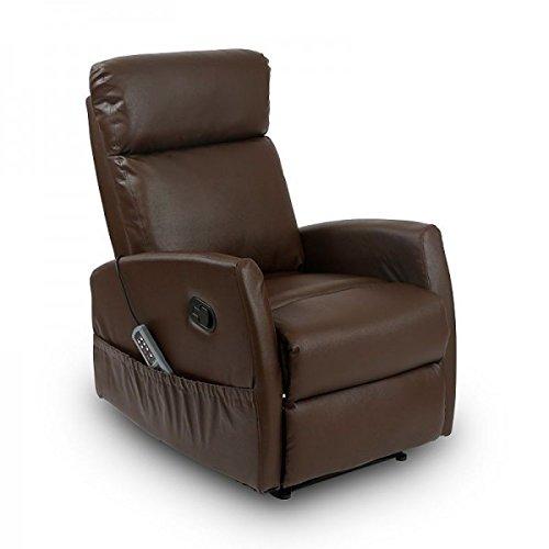 Sillón Relax Masaje Compact (Marrón)