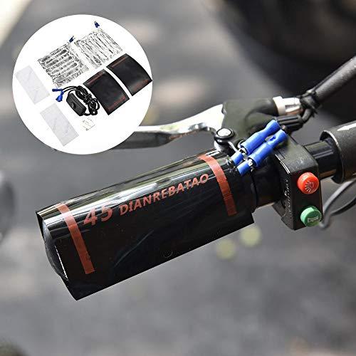 AITOCO Motorrad Griff Heizung Handgriffe Heizung Wärmer 10 Sekunden Heizung Griff Warme Isolierung 15W12V Konstante Temperatur 45 Grad Heizhandschuh