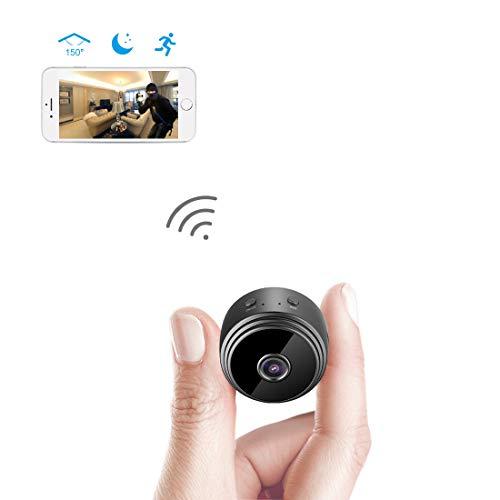 AREBI Spy Camera Wireless Hidden WiFi Mini Camera HD 1080P Portable...