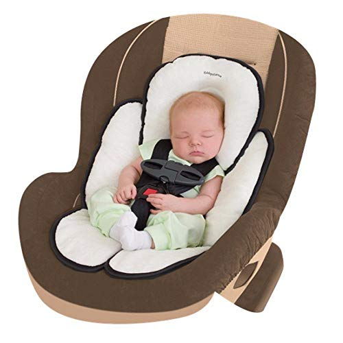 SUMMER INFANT 77680B SNUZZLER Infant Support for CARSEAT and Strollers Black