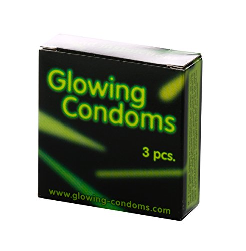 Danatoys lichtcondome Glowing Condoms 3 stuks