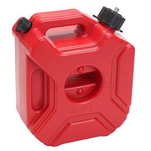 MOVKZACV Autozubehör, Benzinkanister, 3L Plastik Tragbar Antistatisch Kanister Kraftstofftank, Kraftstoffkanister für Benzin und Diesel - für Motorrad Auto ATV-Utv Bootsanhänger