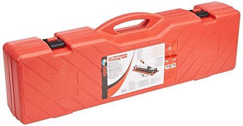 Die Fliesenschneidemaschine 061032Schnitt kariert, rot, 600mm