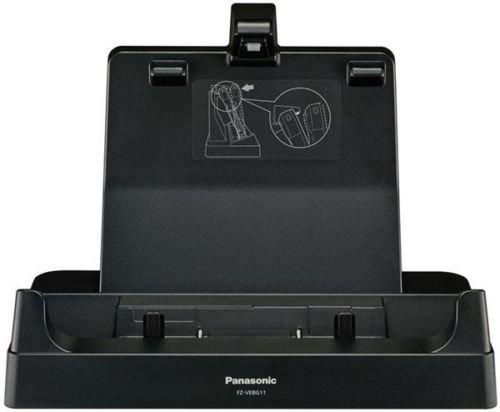 Panasonic Dockingstation (FZ-VEBG11AU) für Toughpad FZ-G1 Tablet Desktop Cradle, Schnittstelle: USB 3.0, HDMI, VGA für verbesserte Konnektivität