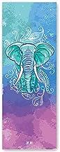 Eden ultradunne yogamat antislip zweetabsorberende opvouwbare draagbare gewatteerde yogadeken handdoek yoga handdoek 183 *...