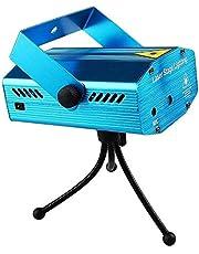 جهاز عرض ليزر صغير لون ازرق