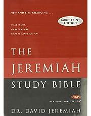 Jeremiah Study Bible-NKJV-Large Print: What It Says. What It Means. What It Means for You.
