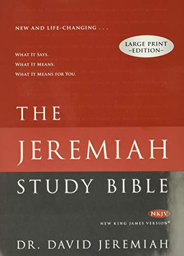 B7A Book] Free Download The Jeremiah Study Bible: New King