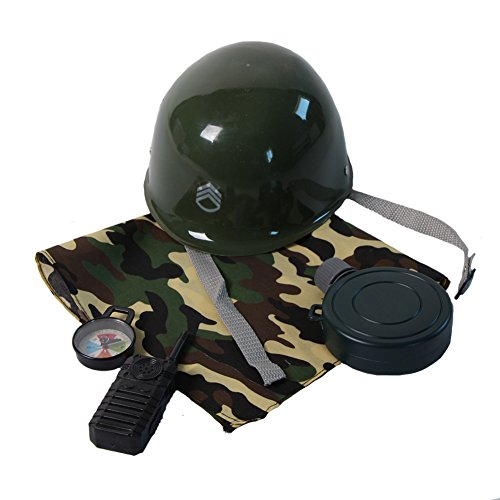 Kids Army Soldier Dressup Accessory Costume Kit