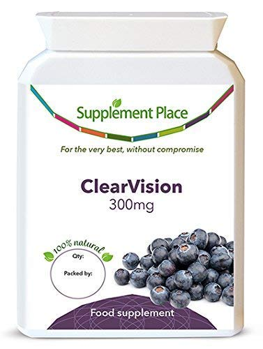ClearVision, a Blend of French Maritime Pine Bark Extract and Bilberry Extract to Remedy Glaucoma (120 Capsules)
