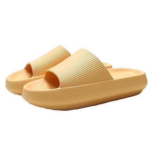 AGGF Sandalias Tipo Pantuflas Material Desodorante Antibacteriano Ligero Antideslizante Unisex Sandalias de Veranda Sandalias de Ducha Zapatillas de habitación Baño Ropa Interior Suave para Sala