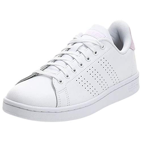 adidas Advantage Sh, Scarpe da Ginnastica Donna, Bianco (Cloud White/Cloud White/Light Granite), 41 1/3 EU
