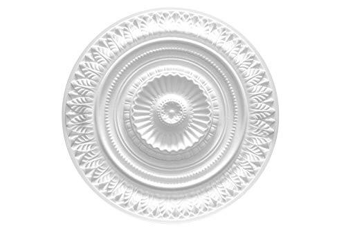 1 Deckenrosette | Innendekor | Stuck | EPS | Dekor | 640x640mm | R-9