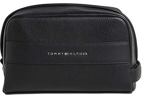 Tommy Hilfiger - Th Business Washbag, Carteras Hombre, Negro (Black), 1x1x1 cm (W x H L)