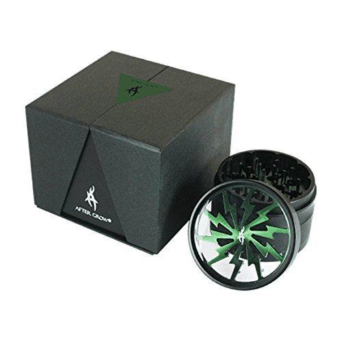After Grow Thorinder Grinder para hierba de 6,35 cm de diámetro y 4 piezas (verde)