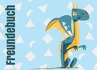 Freundebuch - Drachen: Ein tolles Freundschaftsbuch zum ausfüllen - Mit viel Platz und vielen Eigenschaften zum ausfüllen ...
