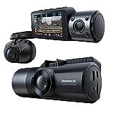 オウルテック ドライブレコーダー 3カメラ 前後 車内 同時録画 GPS搭載 夜間に強い高画質 2.8インチLCD 12V / 24V 対応 プライバシーオート録音 OWL-DR803FG-3C