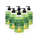 Palmolive Flüssigseife Botanical Dreams Basilikum & Limette, 6er Pack (6 x 500 ml) - Seife zur...