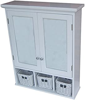 allen roth bathroom wall cabinet