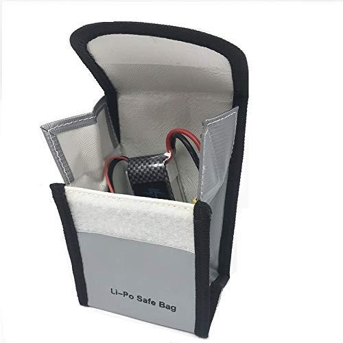 SHUGJAN Bolsa lipo batería de RC Lipo batería de seguridad Guardia Guardia de carga bolsa de protección a prueba de explosiones saco protector de la bolsa Piezas de montaje RC