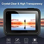 EZCO Screen Protector Compatible with GoPro Hero 8, [3 Sets/9Pcs] Waterproof Ultra Clear Tempered Glass Screen Protector… 12 Screen Protector for GoPro Hero 8: These screen protectors glass are designed for GoPro Hero 8 Camera Black. The package come with 3 pcs tempered glass screen protector, 3 pcs tempered glass lens screen protector, 3 pcs small protective film; 3 set cleaning kits, 1 x installation guide. 9H Hardness: The GoPro Hero 8 Black screen protector tempered glass felt sturdy and made out of good quality materials. It is shatterproof and hard so it doesn't scratch easily. Tempered glass is thick enough to protect your investment from the scratches and bumps of everyday life. Ultra Clear & No Bubbles: This tempered glass is bright, incomparable light transmission up to 99.99%. The highly transparent surface of the protection film for GoPro Hero 8 Black can clearly display the color of the lens and allows the rich colors of the screen.