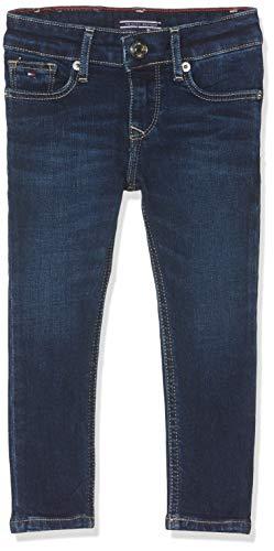 Tommy Hilfiger Mädchen Girls Nora Skinny Nyds Jeans, Blau (New York Dark Stretch 911), 152 (Herstellergröße: 12)