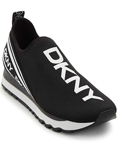 DKNY Damen Jay Sneaker, schwarz/weiß, 41.5 EU