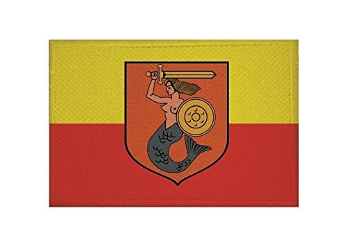 U24 Aufnäher Warschau Fahne Flagge Aufbügler Patch 9 x 6 cm