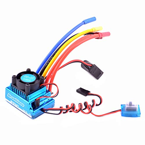 YoungRC 120A Brushless ESC Dust-proof Electric Speed Controller for 1:10 1/10 RC Car