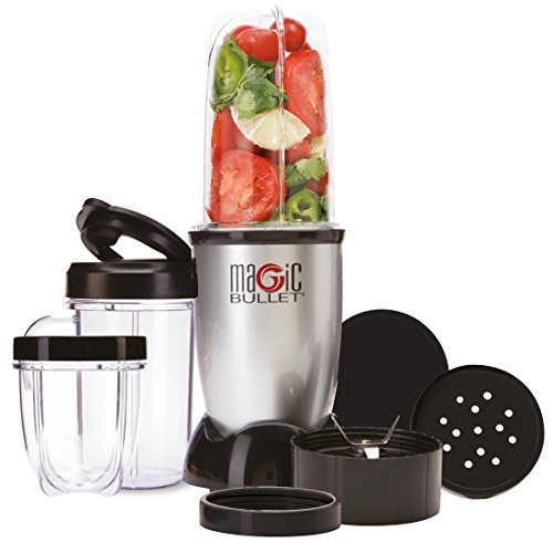 NUTRiBULLET Magic Bullet Blender, Mixer & Food Processor, 11 piece set