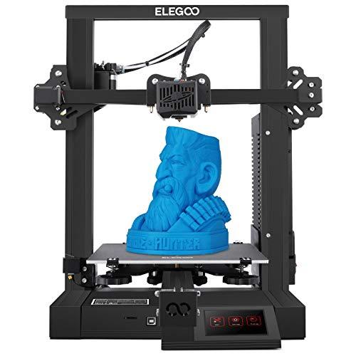 ELEGOO NEPTUNE 2 FDM 3D Drucker mit Lautlosem Motherboard, Sicherheitsnetzteil, Lebenslaufdruck und Abnehmbarer Bauplatte, Druckgröße 220 x 220 x 250 mm