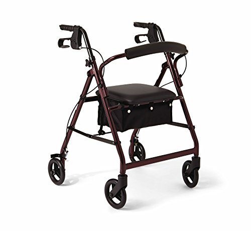 Medline Aluminum Rollator...