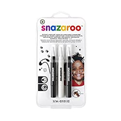 Designed for quick and easy use, twist the barrel until the brush tip is filled with face paint Nib is ideal for outlines and small designs as well as for larger coverage Recreate your favourite looks in three easy steps Ideal for sensitive skin, par...