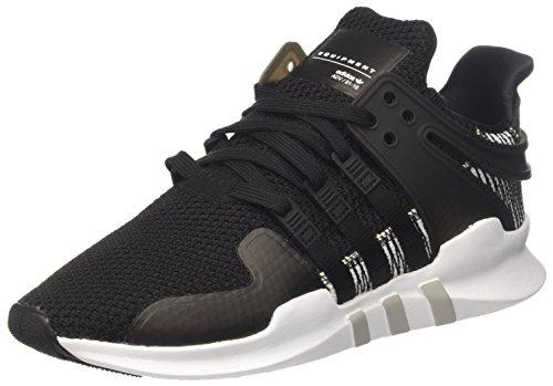 adidas Herren EQT Support ADV Sneaker, Schwarz (Core Black/core Black/Footwear White), 43 1/3 EU