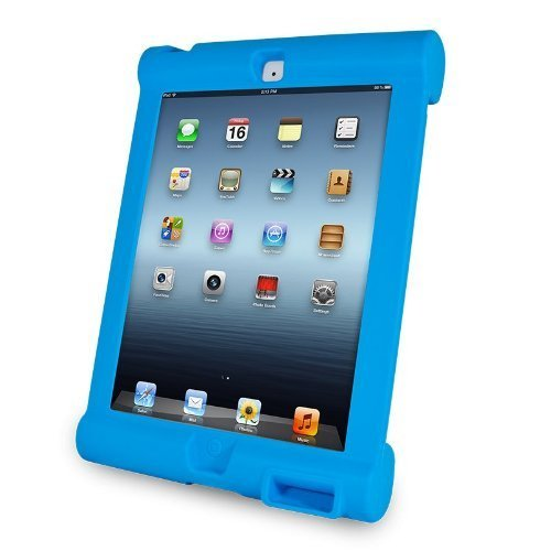 iHome | Play Grip - Lifestyle Case for iPad Mini - Blue (See More Colors)