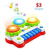 VATOS Baby TV Remote Control Toy, Baby Toys,...