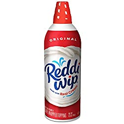 Reddi-wip Original Whipped Dairy Cream Topping, Keto Friendly, 6.5 oz.