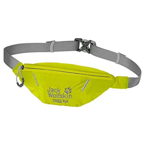 Jack Wolfskin Cross Run Waist Pack, Flashing Green, 10 x 22 x 8 cm