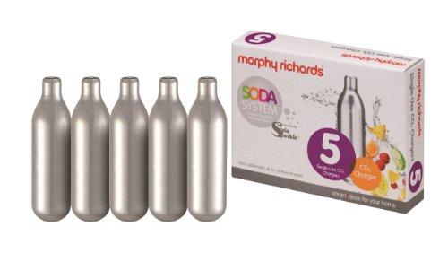 Morphy Richards Soda Sparkle Soda System 134502 Twin Starter Kit