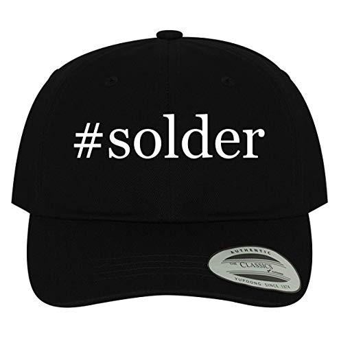 #Solder - Men's Soft & Comfortable Dad Baseball Hat Cap, Black, One Size