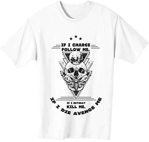 Camiseta inspiradora con cita de miembros leales para hombre.