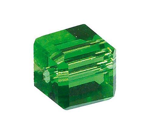 KnorrPrandell 2208649 glazen kubus, 4 mm, emerald
