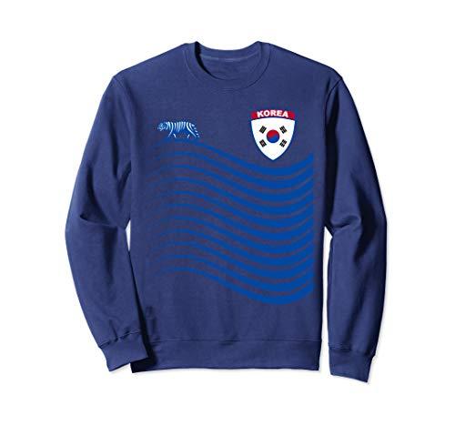 Korea Soccer Jersey South Korea Basketball Flag Gift Sweatshirt