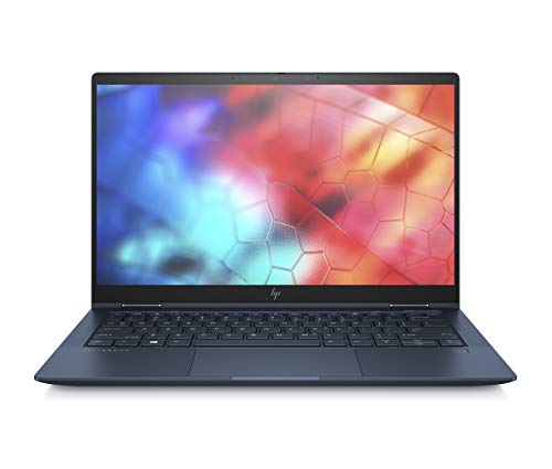 "HP Elite Dragonfly - Ordenador portátil Convertible de 13.3"" FHD (Intel Core i5-8265U, 8GB RAM, 256GB SSD + 16GB 3D Xpoint SSD, Intel Graphics, Windows 10 Pro), Azul - Teclado QWERTY Español"