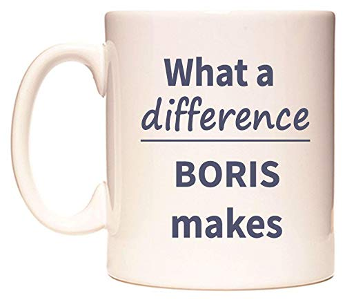 WeDoMugs What a Difference Boris Makes Becher