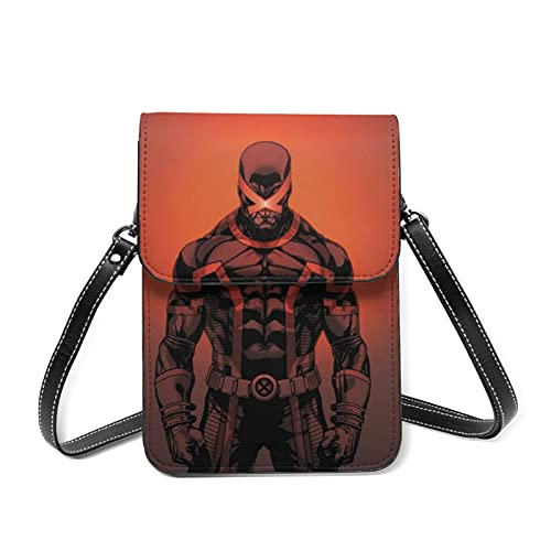 Cyclops Petit sac à main en cuir de qualité supérieure pour téléphone portable Bandoulière réglable Pour femme