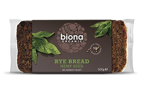 Biona Organic Hemp seed Rye Bread 500g