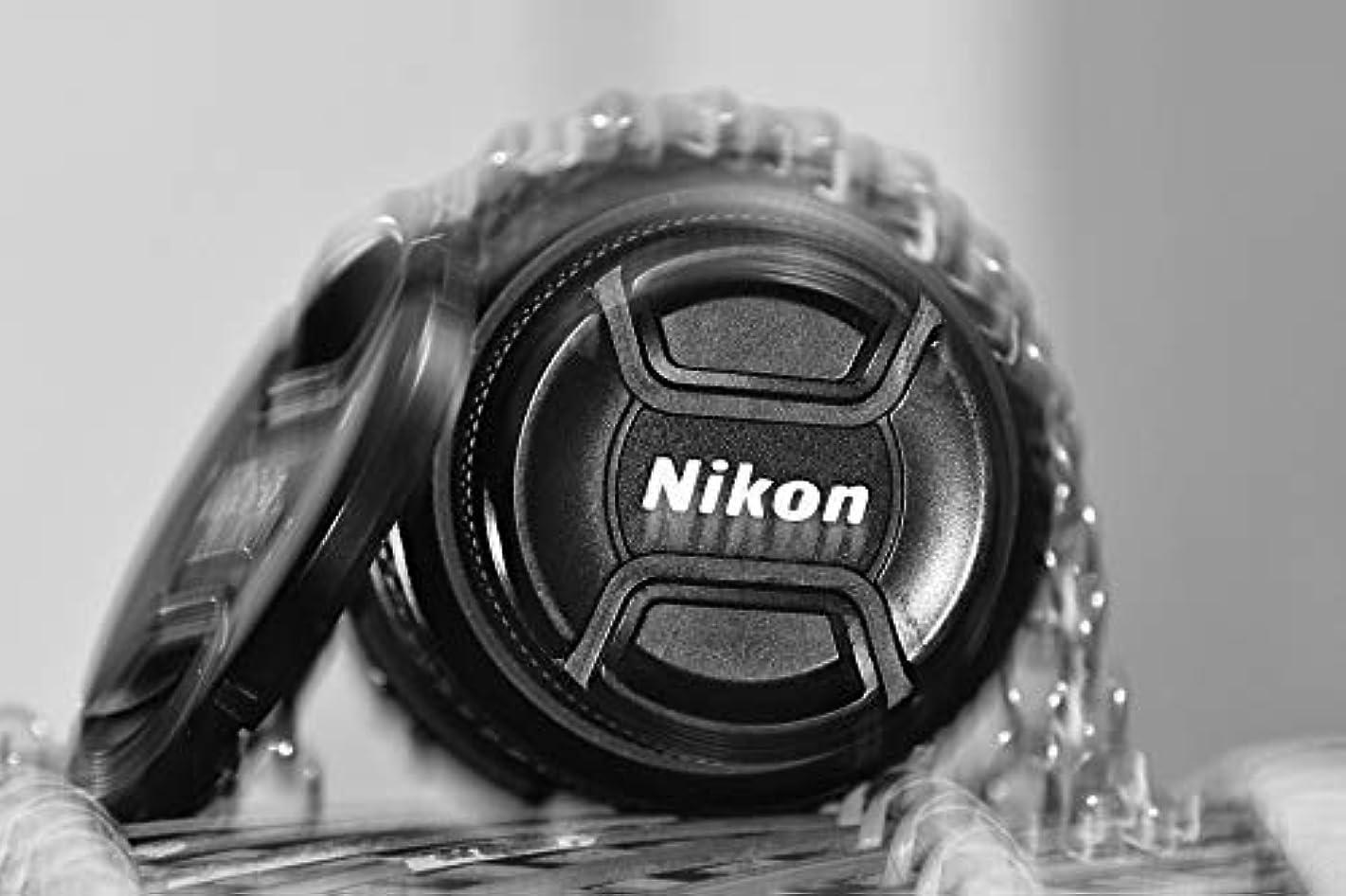 Home Comforts Canvas Print Lens Nikon Lens Lens Cap Grey Camera Nikon Vivid Imagery Stretched Canvas 32 x 24