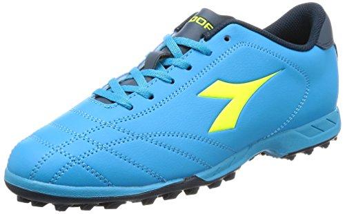 Diadora 6play Tf, Herren Fußballschuhe, Mehrfarbig - C6048 Celeste - Größe: 40