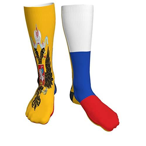 Knee High Funky Socks New Russian Flag Athletic Over The Calf Socks